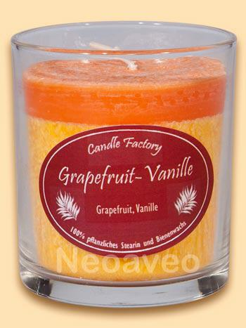 Party Light Grapefruit Vanille Duftkerze von Candle Factory