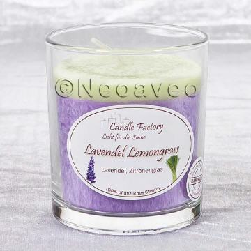 Party Ligth Duftkerze Lavendel Lemongrass von Candle Factroy